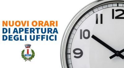 Uffici aperti ogni martedì pomeriggio