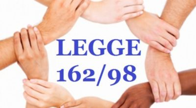 LEGGE N. 162/98: Piani personalizzati in favore delle persone con grave disabilità