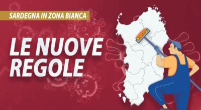 Sardegna in zona bianca: tutti i divieti e i permessi.